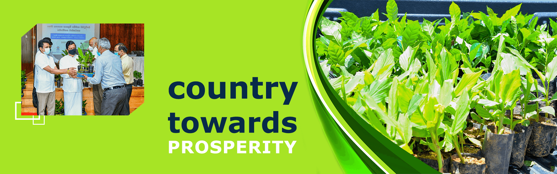 Ministry of Trade - Country towards prosperity